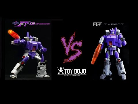 Fans Toys FT-16 Sovereign (MP Galvatron) VS Dx9 Tyrant (MP Galvatron)