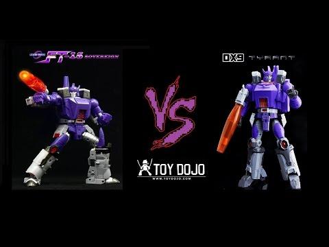 Fans Toys FT-16 Sovereign (MP Galvatron) VS Dx9 Tyrant (MP Galvatron)