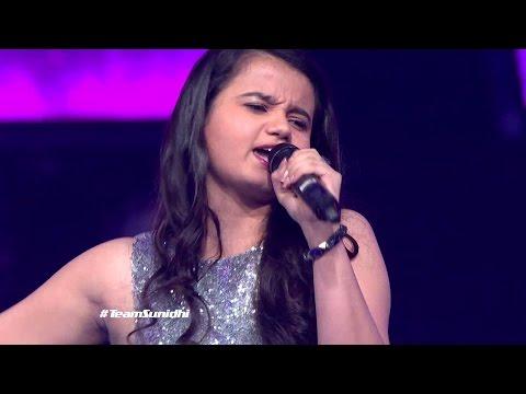 Srishti Bhandari shares her excitement on making it to The Live Show #Team Sunidhi