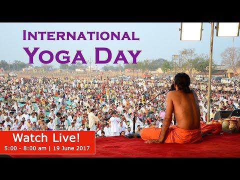 Watch Live!   3rd International Yoga Day   Ahmedabad, Gujarat   18-21 June 2017   Day 2