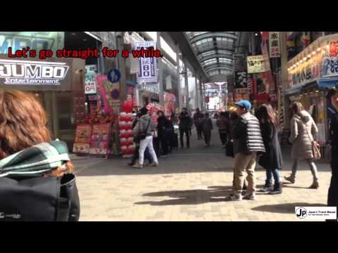 How to go from Namba Station to Kuromon Market