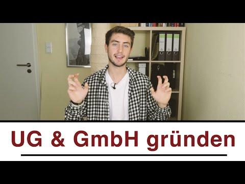UG & GmbH gründen | Genaue Anleitung zum eigenen Unternehmen