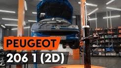 Wie PEUGEOT 206 1 (2D) vorderes Federbein wechseln [AUTODOC TUTORIAL]