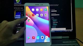 Huawei Honor Pad 2 unlock bootloader root flash TWRP recovery install Google Play Services