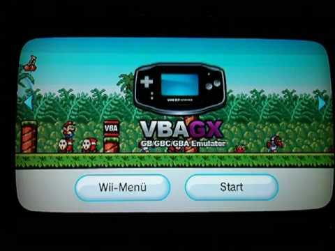 Wii VBAGX Channel