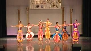 UHCOSA Pongal Vizha 2014 ~ Sanga Tamil Dance