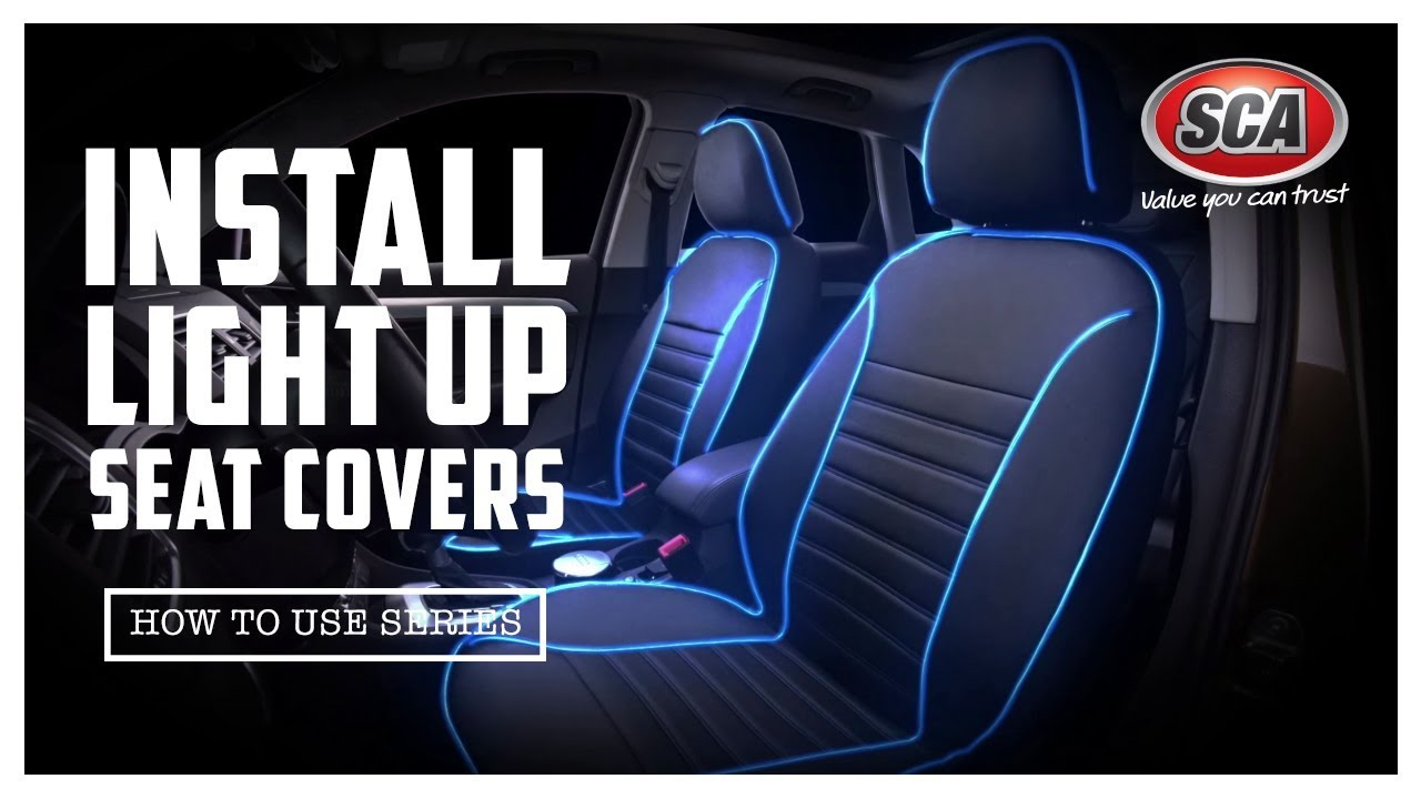 Light Blue Car Seat Covers  Velcromag