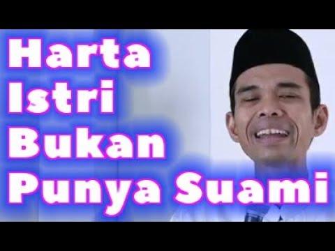 HARTA ISTRI BUKAN PUNYA SUAMI Ceramah Kocak Ustadz Abdul Somad Terbaru
