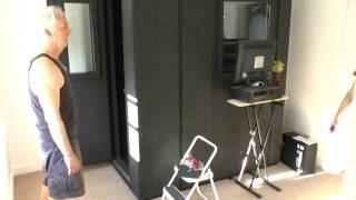 WhisperRoom Recording Studio Installation