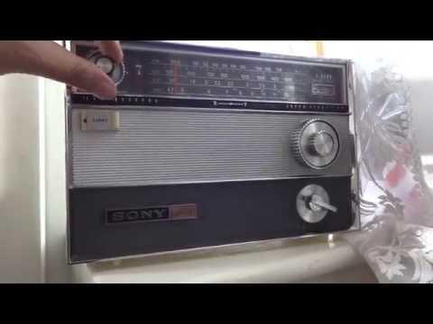 SONY TFM-1000W Sound Demo 1960s Radio PART 1