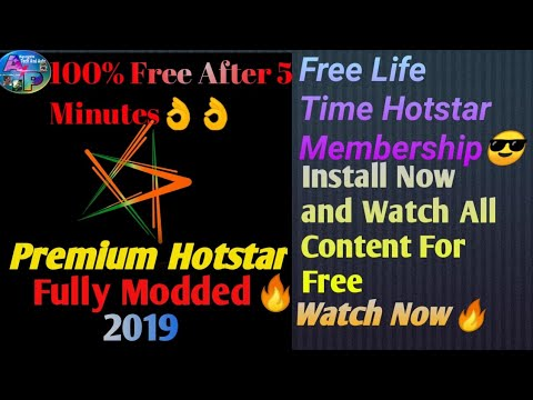 Install Latest Hotstar VIP Mod App and Watch Free Live Cricket and All  Movies,TV Shows🔥🔥
