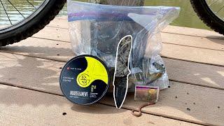 5 Item SURVIVAL Fishing Challenge!!! (NO TECHNOLOGY)