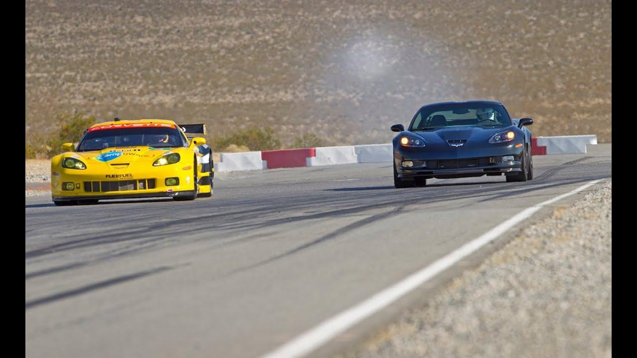 corvette drag race