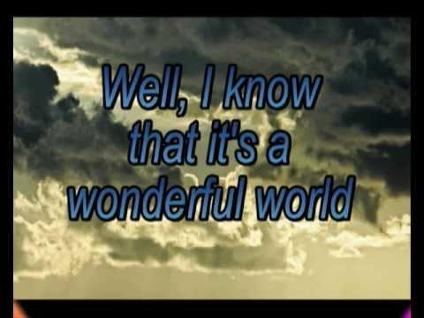 Wonderful world- Lyrics -James Morrison