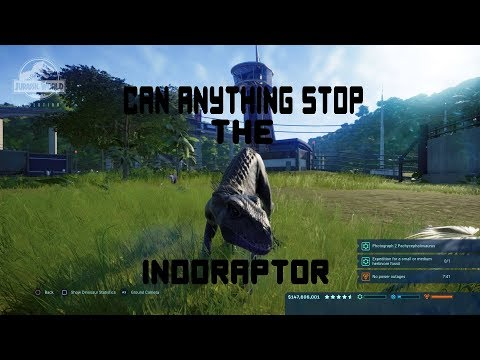 Jurassic world evolution-Can anything stop the INDORAPTOR  