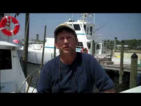 Captain Don McPherson with Getaway Charters