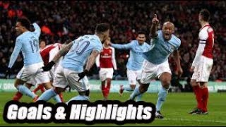 Arsenal vs Manchester City - Goals & Highlights - Premier League 18-19