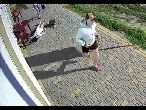 Man Beats Girl Unconscious While Walking on The Sidewalk