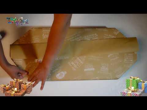 tutorial envolver regalos papel ecologico