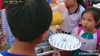 Trò chơi VÒNG QUAY M.A.Y M.Ắ.N (3.K/l.ư.ợ.t) T.R.Ú.N.G CHUỘT, NHÍM, XE, KẸO, ĐỒ CHƠI...