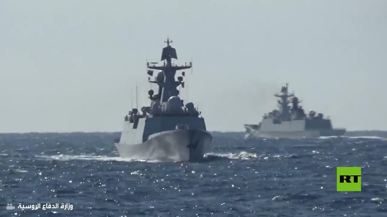 لأول مرة.. سفن حربية روسية وصينية تسير دورية مشتركة في المحيط الهادئ