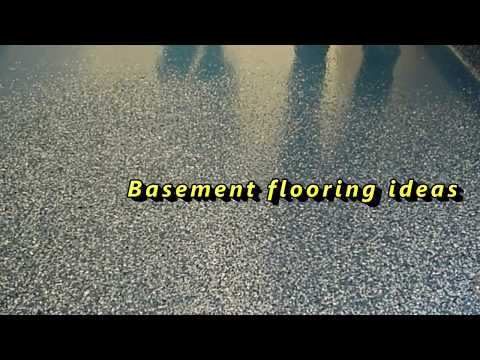Basement flooring ideas | Cheap basement floor options