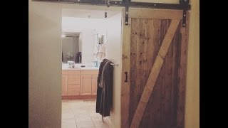 Homemade Barn Door