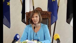 Президент Эстонии Керсти Кальюлайд - Интервью