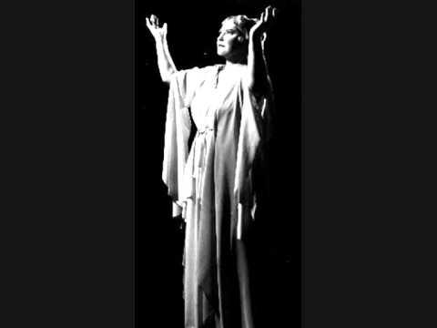KIRSTEN FLAGSTAD.Jesu,joy of man's desiring.1957.Stereo.Age 62 years. LONDON. Bach.