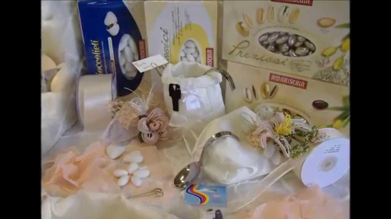 Confettata matrimonio e bomboniere, i suoi gioielli sono fiori di perline - YouTube