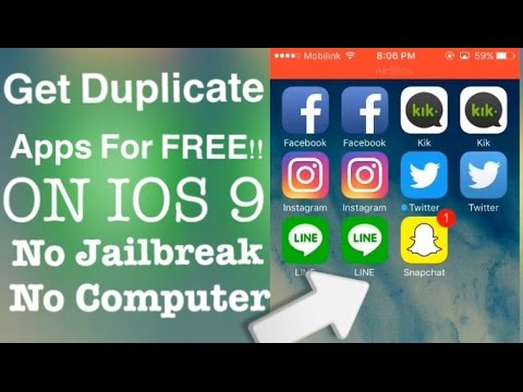 how to get free apps no jailbreak ios 9