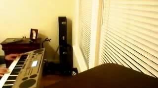 """عزف نانسي عجرم """"ابن الجيران"""" Casio AT-3"""