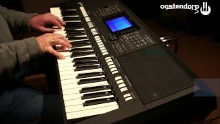 Yamaha PSR-S750 keyboard sound demo