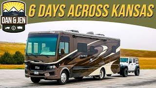 WE'RE NOT IN KANSAS ANYMORE - Our Six Day Trip Thru Kansas - Free Camping - State Parks