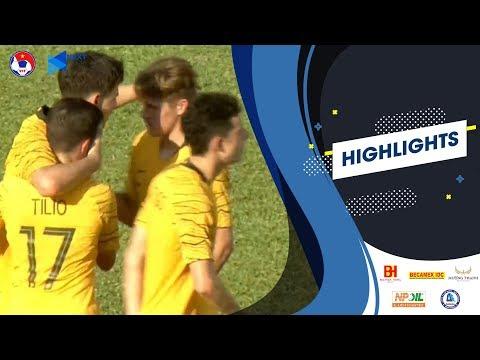 Highlights   U18 Australia - U18 Singapore   Áp đảo hoàn toàn   VFF Channel