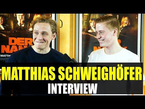 MATTHIAS SCHWEIGHÖFER Interview: Joko, Der Nanny, Kinotour, Milan Peschel