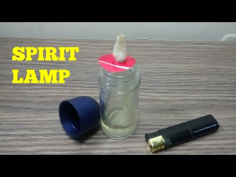 HOW TO MAKE A SPIRIT LAMP
