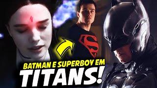 NOVO PODER DA RAVENA, SUPERBOY E BATMAN REVELADO! | TITANS 2ª TEMPORADA TEASER TRAILER ANÁLISE