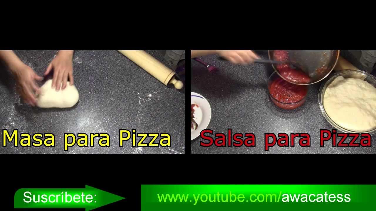 Pizza hawaiana casera receta de comida rapida cocina for Cocina casera facil y economica