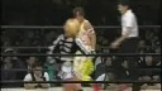 全女 川崎夢闘争92 第4試合 1/3 オールパシフィック選手権 Kyoko Inoue vs. Akira Hokuto All Pacific championship.