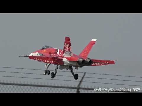 Canadian International Air Show 2017- Monday Action - RWY 23 + Control Tower! September 4, 2017