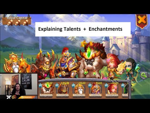 Talents For Sasquatch Warlock Ghoulem Valentina Royal Capitol Castle Clash