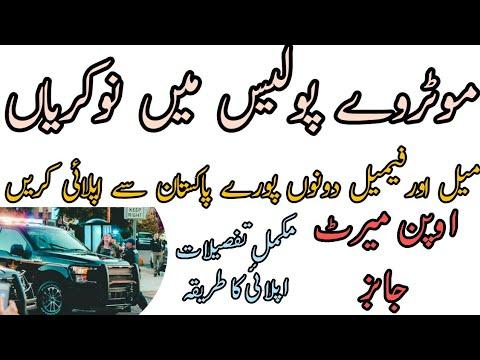 Motorway Police jobs 2019 200 Vacancies | National Highway Department |  jobs For All Pakistan