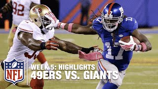 49ers vs. Giants | Week 5 Highlights | NFL