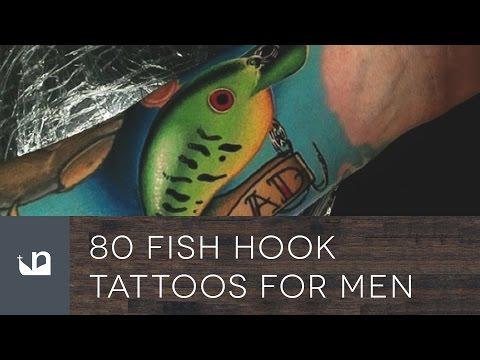 80 Fish Hook Tattoos For Men