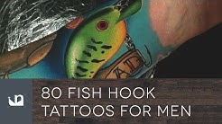 80 Fish Hook Tattoos For Men