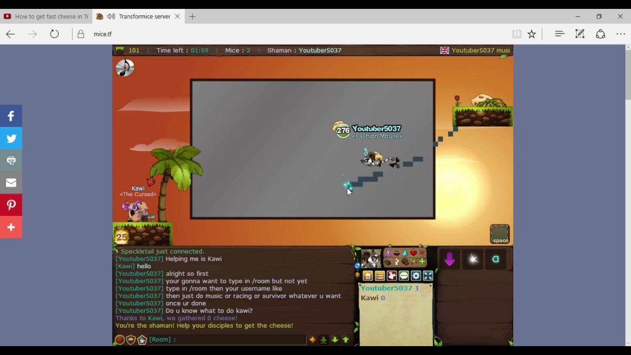 How To Make A Private Room On Transformice
