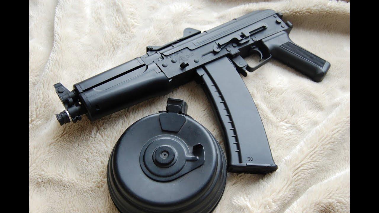 Bravo Airsoft AKS-74U Custom AK Pistol Buildup - YouTube