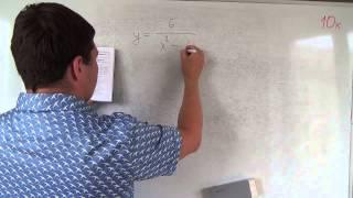 Алгебра 10 класс. 4 сентября. Область определения функции #1