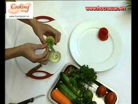 Hướng dẫn cắt tỉa - Cách trang trí viền đĩa